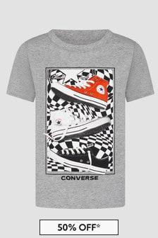 Converse Boys Grey T-Shirt