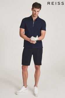 REISS Fairway Performance Slim Fit Shorts