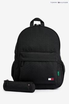 Tommy Hilfiger Black Alex Backpack