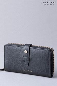 Lakeland Leather Fairfield Black Leather Purse