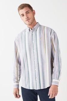 Oversized Stripe Shirt
