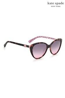 kate spade new york Visalia Tortoiseshell Brown Sunglasses