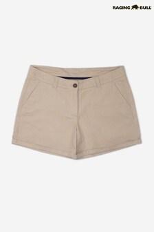 Raging Bull Tan Ladies Chino Shorts