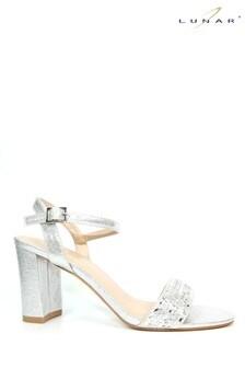 Lunar Starla Metallic Heel Sandals