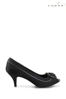 Lunar Ripley Satin Peep Toe Shoes