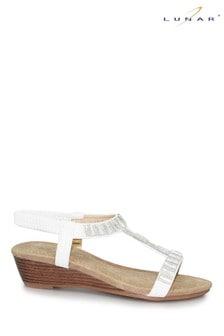 Lunar Reynolds Wedge Sandals