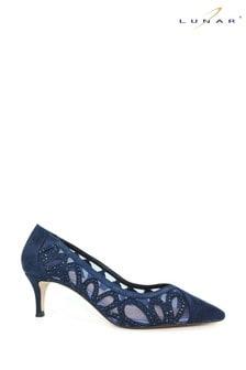 Lunar Melbourne Pointed Toe Court Shoes