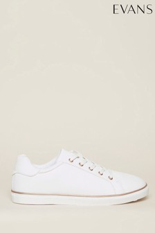 Evans White Spencer Trainers