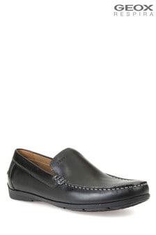 Geox Black U Siron A Shoes