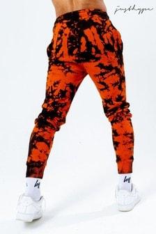 Hype. Orange Tie Dye Joggers