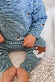Purebaby Fox Knit Leggings