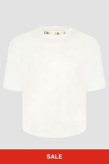 Palm Angels Boys White T-Shirt