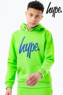 Hype. Neon Kids Overhead Hoodie
