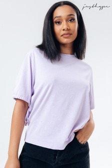 Hype. Vintage Women's Tie Sleeve T-Shirt