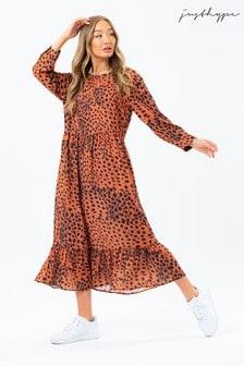 Hype. Bronze DalmatianWomen's Omorose Dress