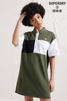 Superdry Energy Dystopia Polo Dress