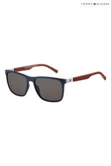 Tommy Hilfiger Blue/Burgundy Sunglasses