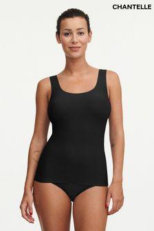 Chantelle Black Soft Stretch Vest Top