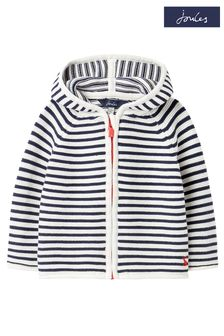 Joules 0-24 Months Blue Conway Zip Through Cardigan
