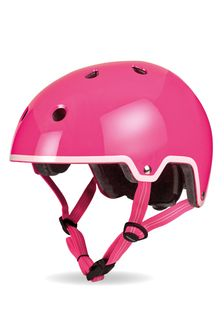 Micro Scooters Pink Curved Deluxe Helmet