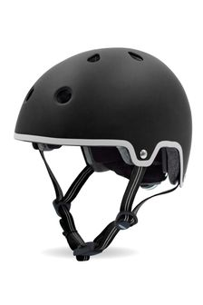 Micro Scooters Black Curved Deluxe Helmet