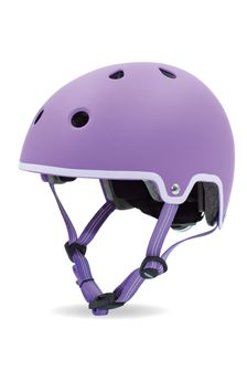 Micro Scooters Purple Curved Deluxe Helmet