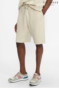 Ted Baker Natural Shawty Jersey Shorts