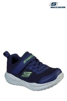 Skechers Blue Nitro Sprint Krodon Trainers