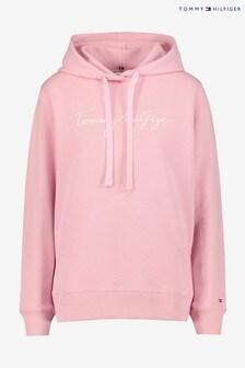 Tommy Hilfiger Pink Pastel Heritage Hoodie