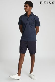 Reiss Elliot Mercerised Egyptian Cotton Polo Shirt