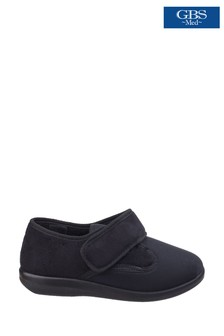 GBS Black Med Frenchay Classic Slippers