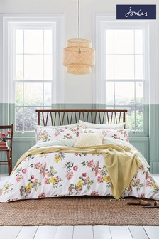 Joules Yellow Spring Geo Throw