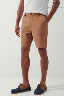 Crew Clothing Company Brown Bermuda Shorts