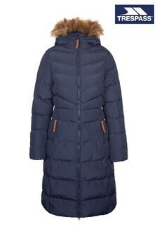 Trespass Womens Blue Audrey Casual Jacket