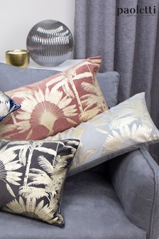 Riva Paoletti Silver Malaysian Palm Cushion