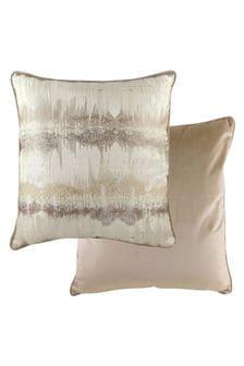 Evans Lichfield Mocha Inca Cushion