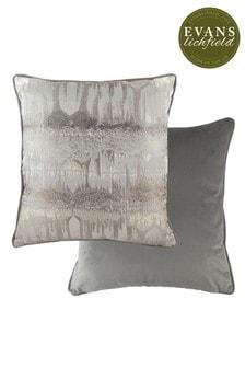 Evans Lichfield Grey Inca Cushion