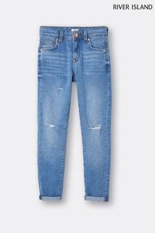 River Island Blue Light Wash Ollie Jeans