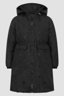 Burberry Kids Girls Black Jacket