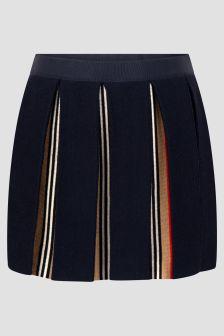 Burberry Kids Girls Black Skirt