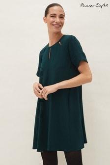 Phase Eight Green Zoe Swing Dress