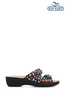 Fly Flot Ladies Adjustable Mule Sandals