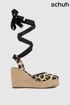 Schuh Black Vertigo Closed Toe Espadrilles