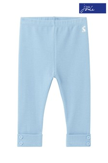 Joules Blue Merevale Organically Grown Cotton Leggings