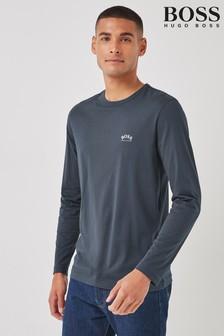 BOSS Blue Togn Curved T-Shirt
