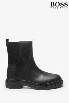 BOSS Mens Black Titanium Boots