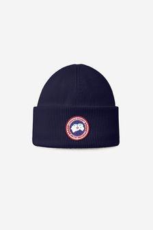 Canada Goose Kids Black Arctic Disc Toque Hat