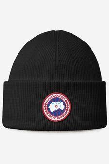Canada Goose Kids Navy Arctic Disc Toque Hat