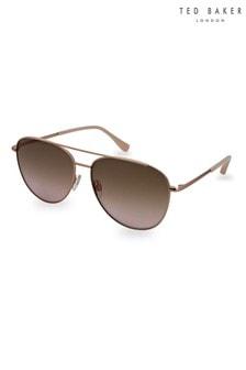 Ted Baker Demi Brushed Rose Gold Sunglasses