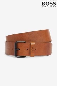 BOSS Brown Serge Belt